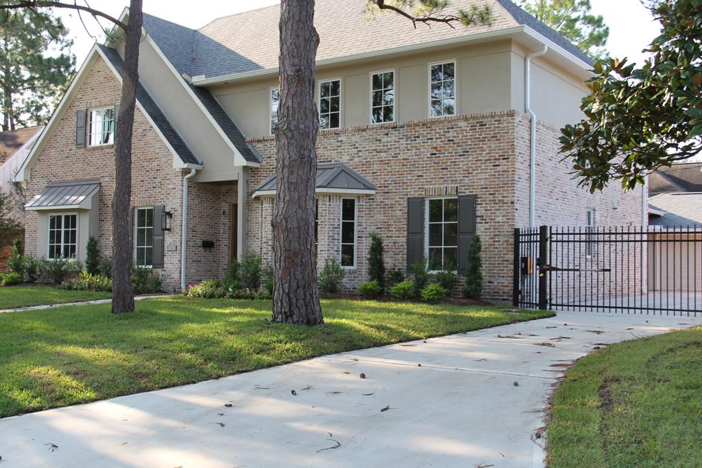 Custom Home Remodel Brick Match