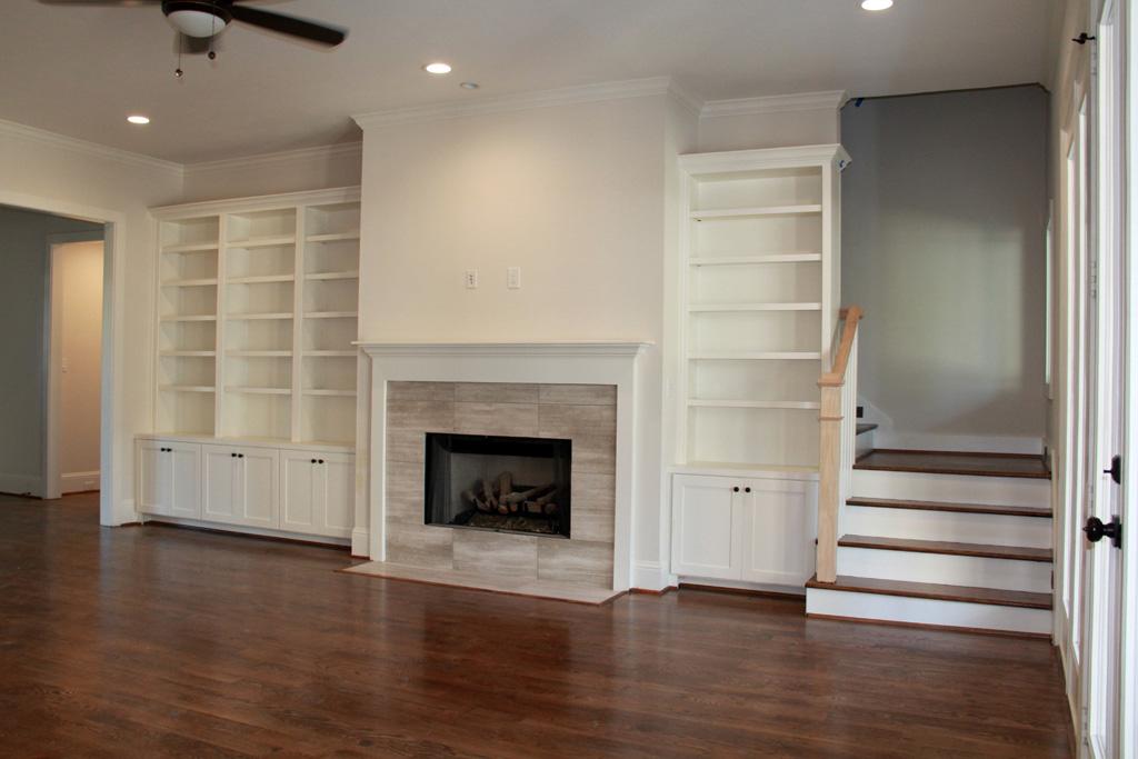 Custom Cabinets and shelving