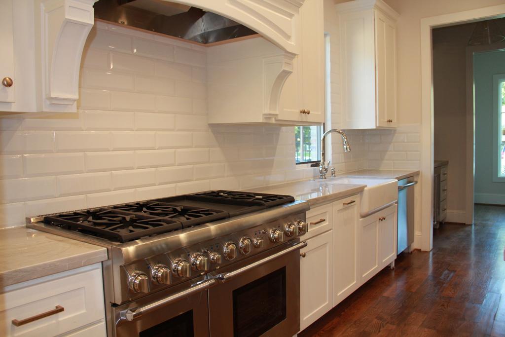 Custom double oven and range