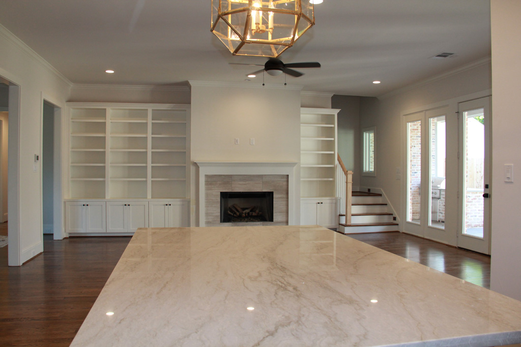 Custom Living Room remodel