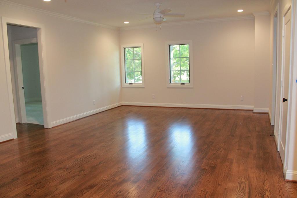 Custom Wood floors upstairs