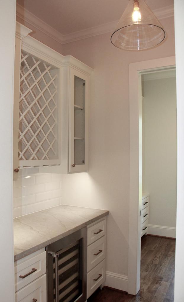 Custom Wine Bar and Cabinets