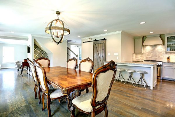 Custom Remodeled Dining Room